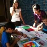 Family Workshop: Making Art through Geometric Play AMA | Art Museum of the Americas September 15, 2012